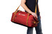 Pacsafe Duffelsafe AT45 Reisbagage rood